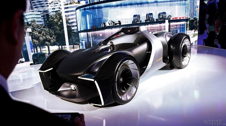 """""""Toyota e-Racer"""" цахилгаан хөдөлгүүрт уралдааны машины төслийн загвар"""