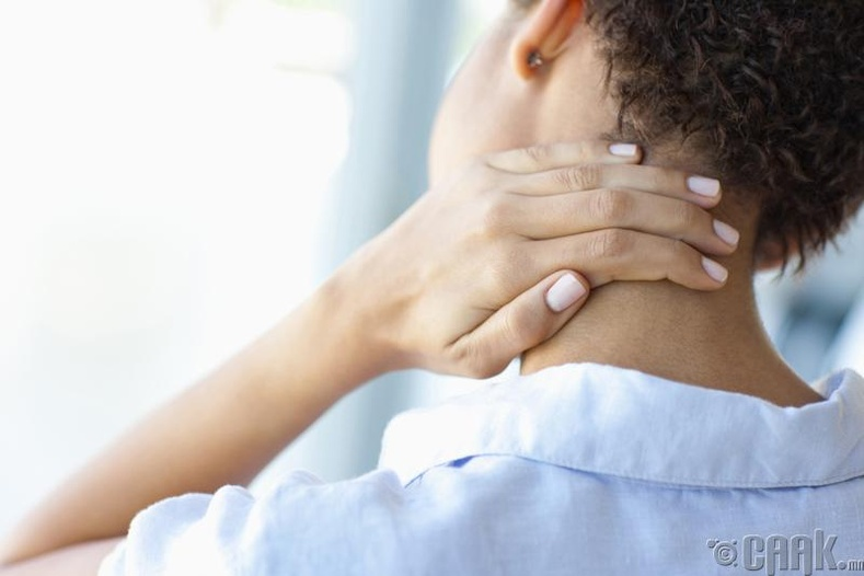 Толгой, хүзүүгээр өвдөх шалтгаан