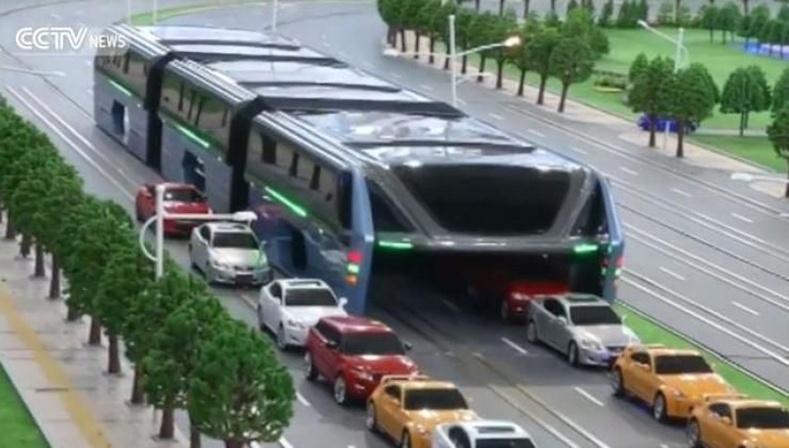 Хятадуудын бүтээсэн ирээдүйн автобус