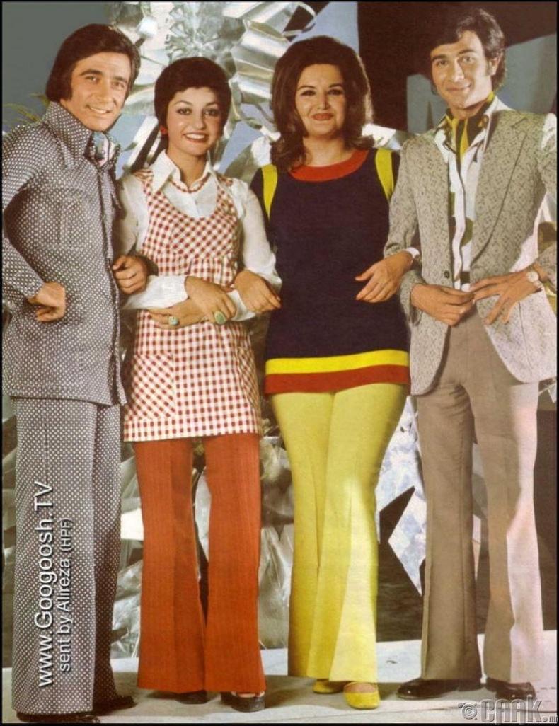 1973 оны Исламын хувьсгалаас өмнөх Ираны поп дуучид