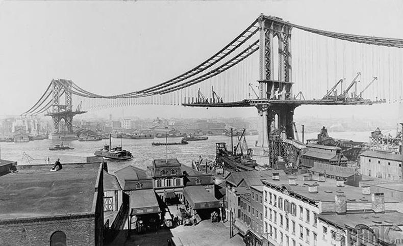 Манхеттаны гүүр, Нью-Йорк хот - 1910 он