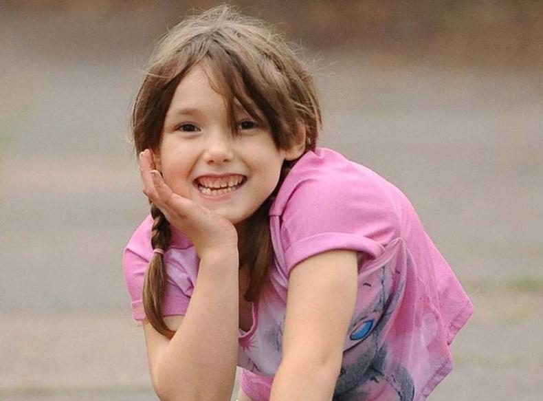 Сэтгэлийн тэнхээтэй бяцхан охин