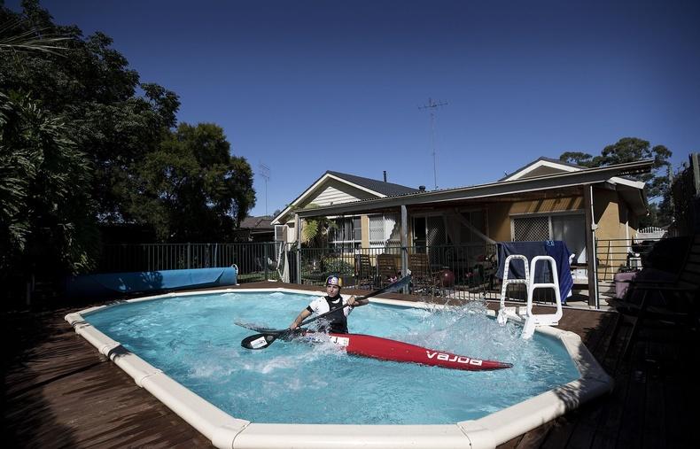 Жессика Фокс, Австралийн сэлүүрт завины олимпын тамирчин