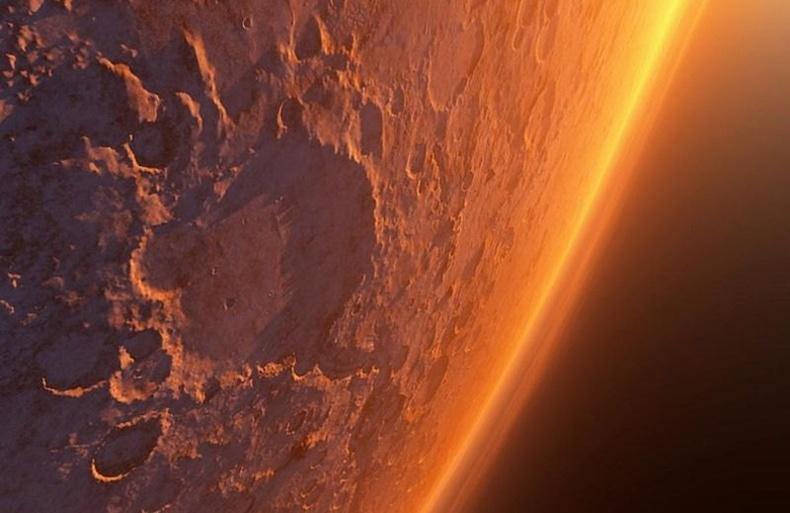 Ангараг гаригийн гайхалтай дүр зургууд