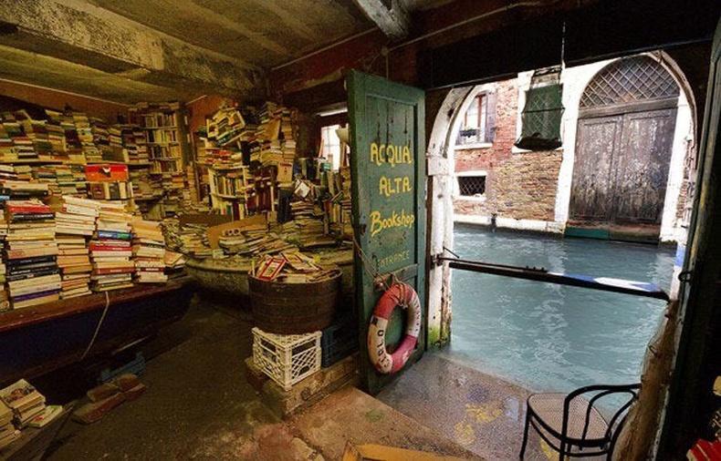 Венец хотын нэгэн номын дэлгүүр