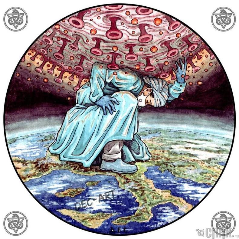 Коронавирус- Грекийн домгоос санаа авсан нь
