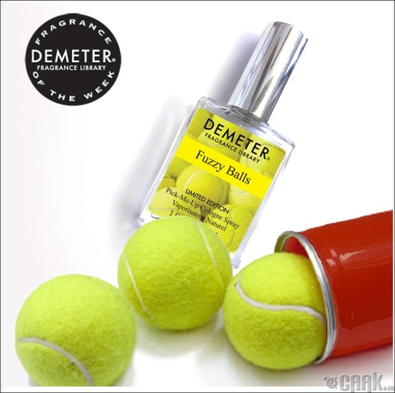 Теннисний бөмбөгний үнэртэй ус