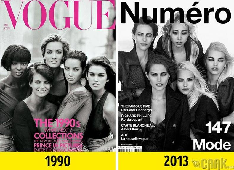 """Vogue"" болон ""Numero"""