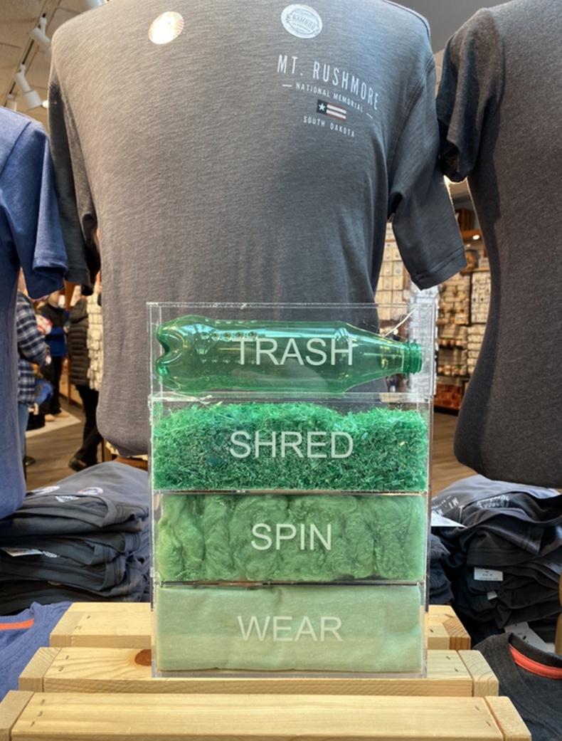 Хуванцар хог хаягдлыг хэрхэн хувцас болгох үйл явцыг харуулжээ
