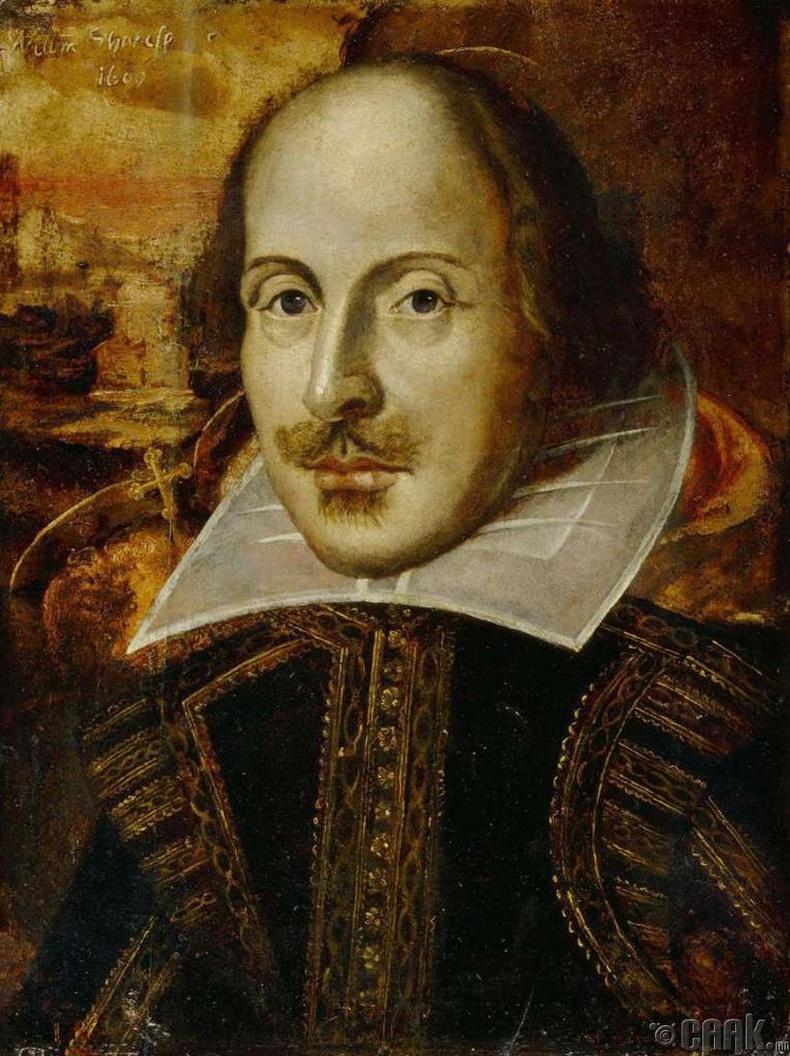Америкт анх Европчууд суурьшиж эхэлж байхад Шекспир амьд байлаа