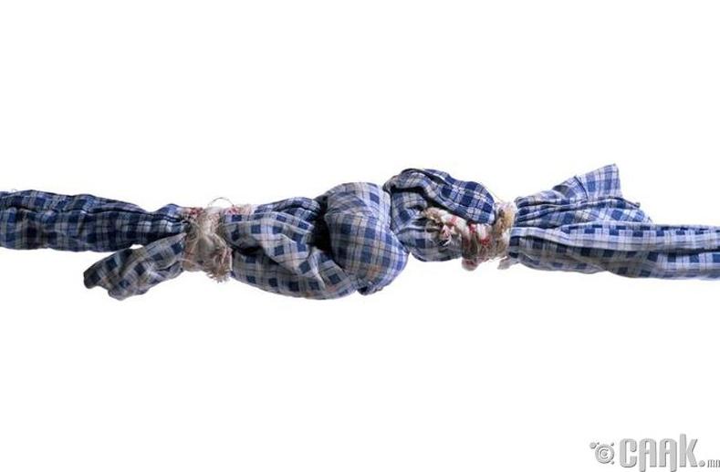 Алчуур, даавуугаар хийсэн олс