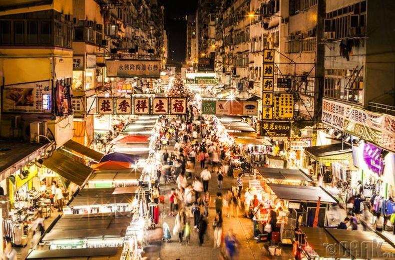 Хонгконгийн бараа үнэтэй