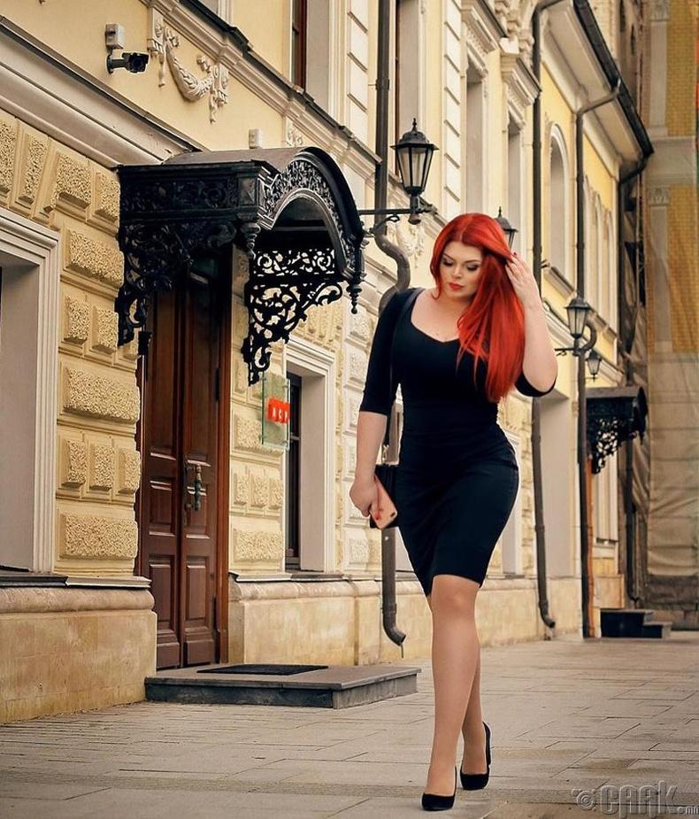 """""""Модель XL"""" нэвтрүүлгийн оролцогч Ирина Демчук"""