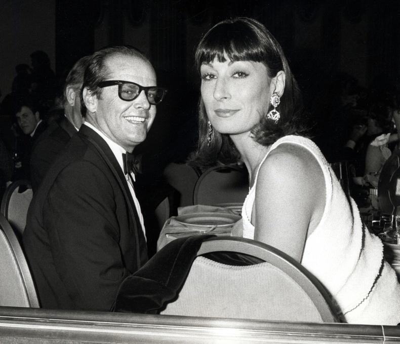 Жек Никольсон болон Анжелика Хьюстон, 1986 он.
