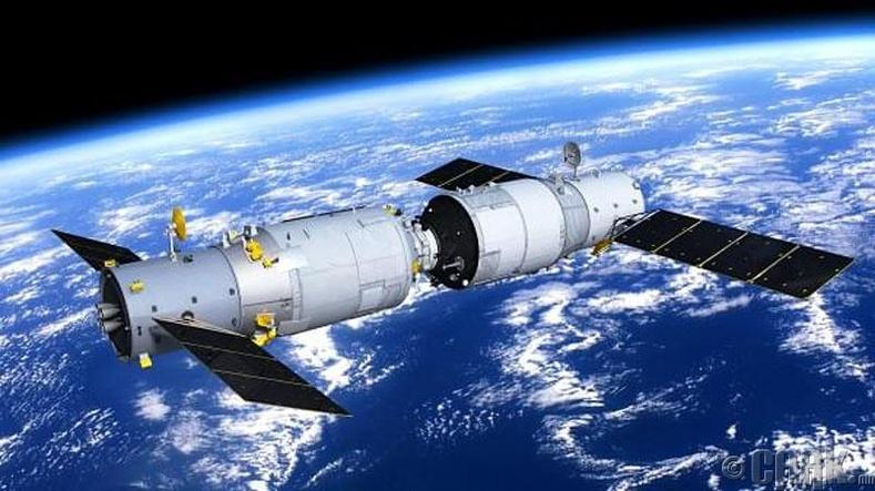 """""""Tianzhou 1"""" ачааны сансрын хөлөг"""