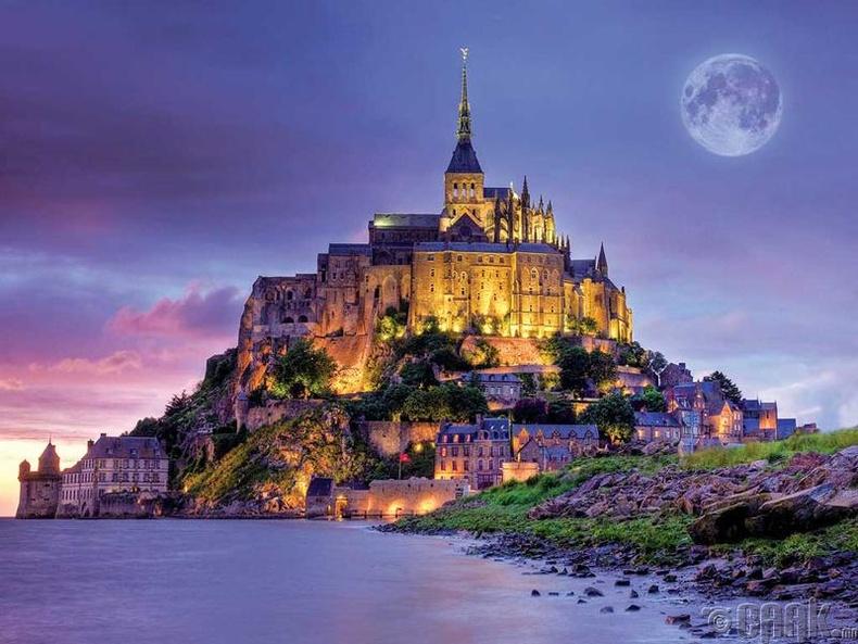 Мон-Сен-Мишель, Франц улс