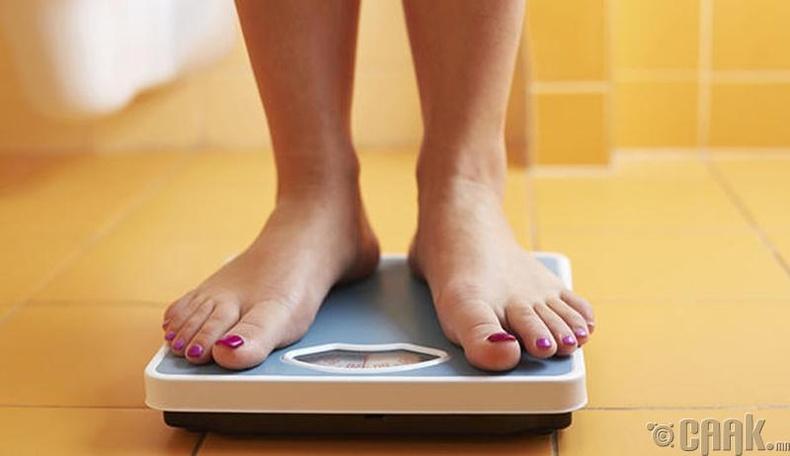 Хүчээр өлсөх, илчлэг багатай хоол хүнс хэрэглэх
