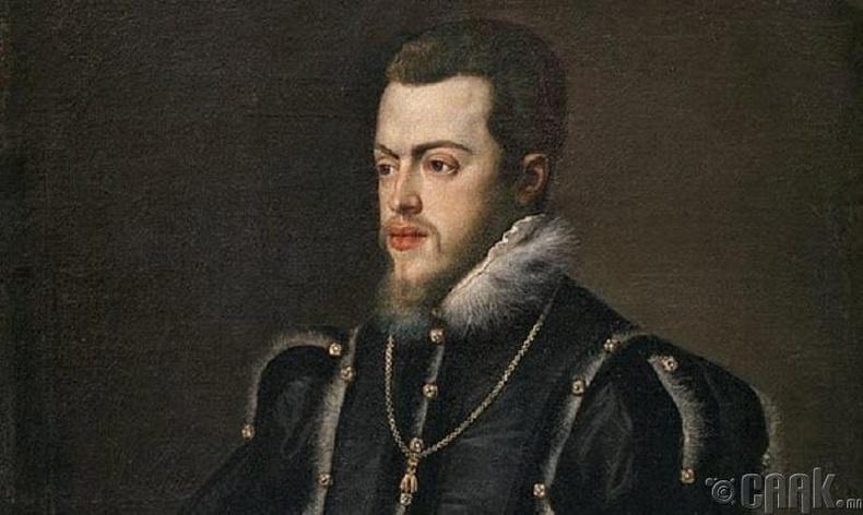 Испаний II Филипп хаан болон Дон Карлос