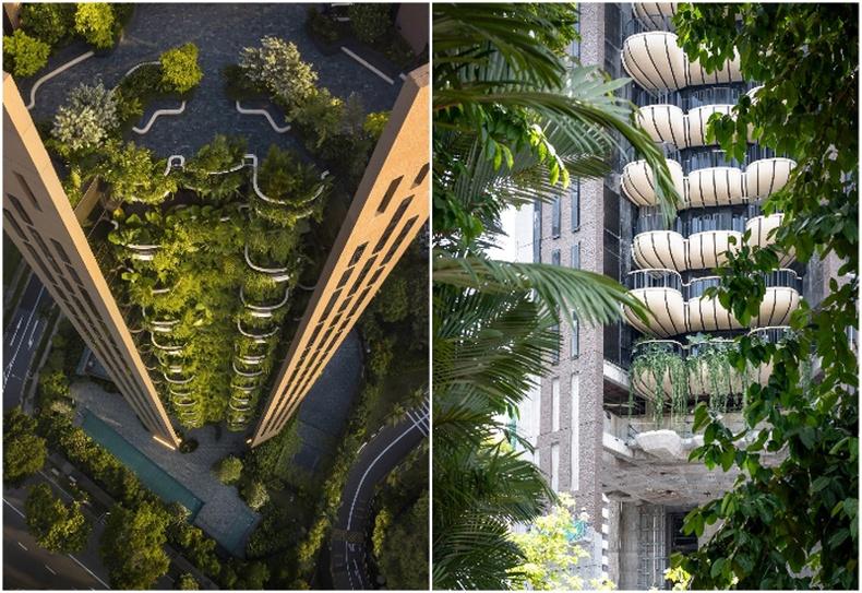 """""""Heatherwick Studio""""-ийн Амьд цамхаг """"Eden"""" (Сингапур)"""