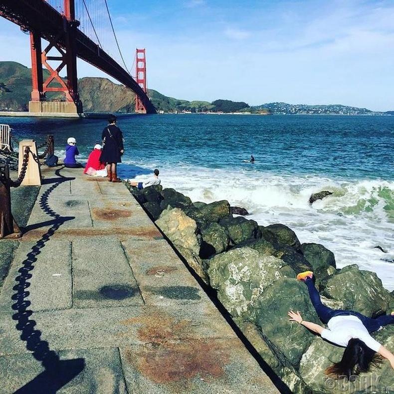 """""""Golden Gate"""" гүүр, Сан Франциско"""