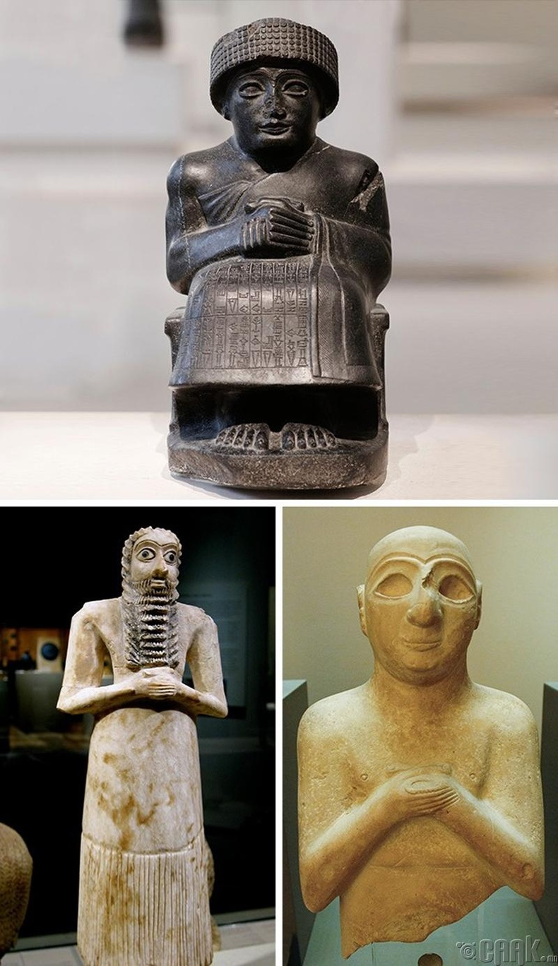 Эртний Шумерууд бичиг үсэгтэй байсан
