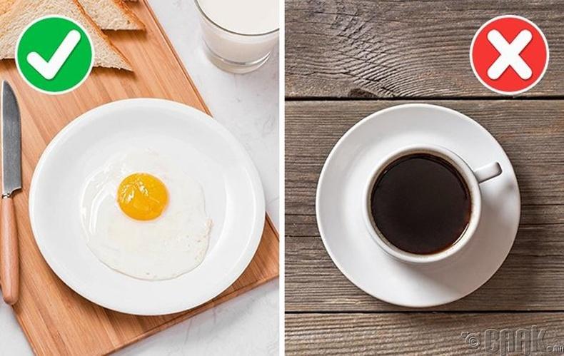 Өглөө илчлэг идэхээс бүү татгалз