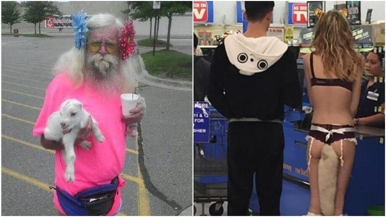 """Америкийн """"Walmart"""" дэлгүүрт тааралдах хачирхалтай хүмүүс"""