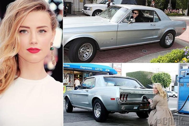 """Эмбер Херд – """"Ford Mustang"""" - $150 мянга"""