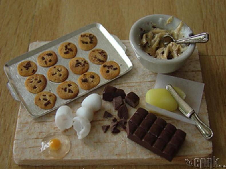Шоколадны хэлтэрхийтэй жигнэмэг