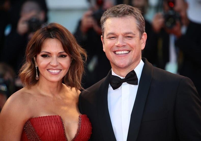 Жүжигчин Мэтт Дэймон (Matt Damon)-ий эхнэр Лучиано Барросо (Luciana Barroso)