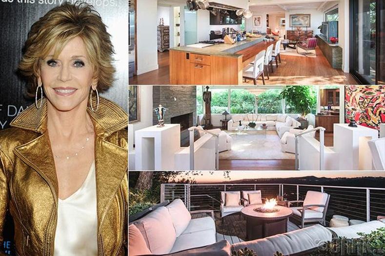 Жэйн Фонда (Jane Fonda) - Беверли Хиллс, 13 сая ам.доллар