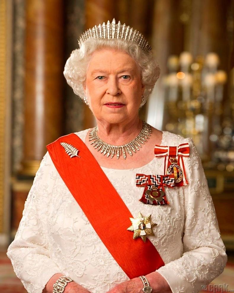 Хатан хаан Элизабет II - Сарьсан багваахайн хамгаалагч