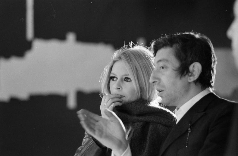 Брижит Бардо болон Серж Генсбур, 1967 он.