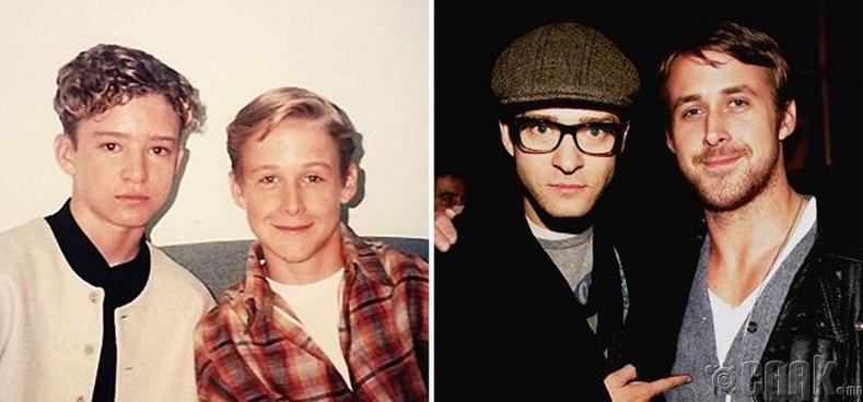 Жастин Тимберлайк (Justin Timberlake) болон Райн Гослинг (Ryan Gosling)