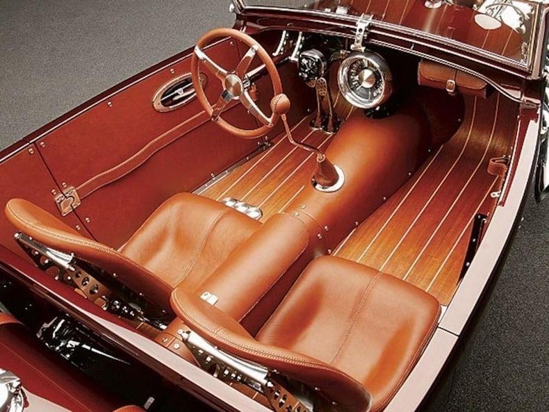 1929 онд үйлдвэрлэгдсэн Ford Roadster пикапийн дотоод шийдэл