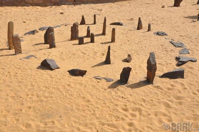 Набтагийн хөшөө чулуунууд