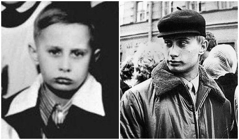 """Владимир Путины """"нууцлаг"""" бага залуу насны ховор зургууд"""