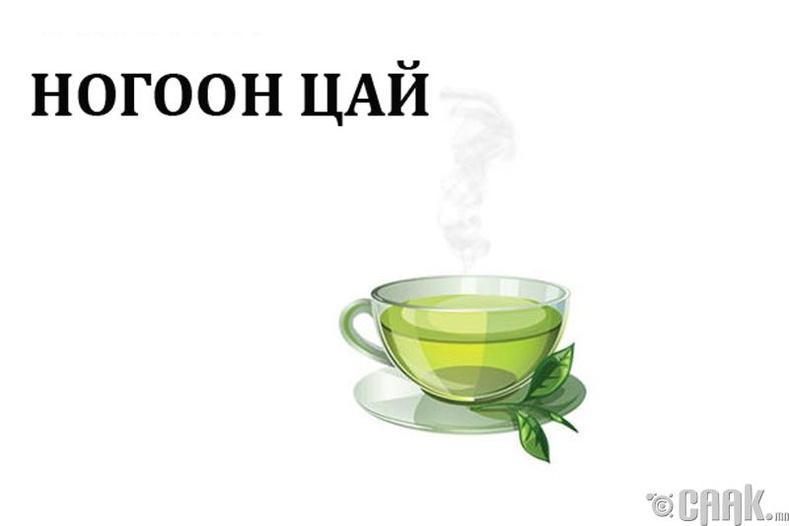 Ногоон цай