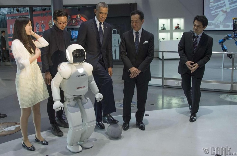 Асимо робот