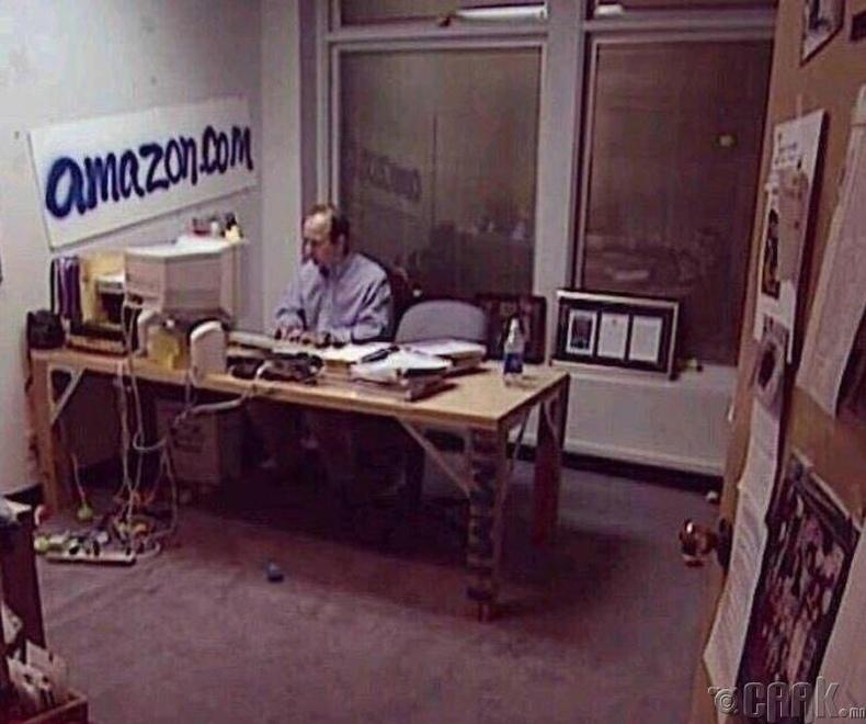 Жефф Бозос (Jeff Bezos)