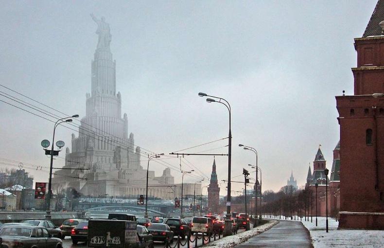 Зөвлөлтийн ордон, Москва
