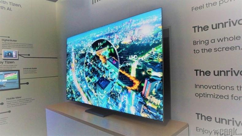 """""""Samsung Q950TS 8K QLED TV"""" - Хүрээгүй зурагт"""