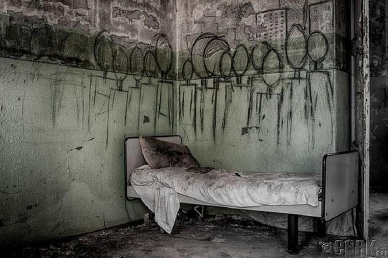 Хаягдсан сэтгэцийн эмнэлэг - Итали