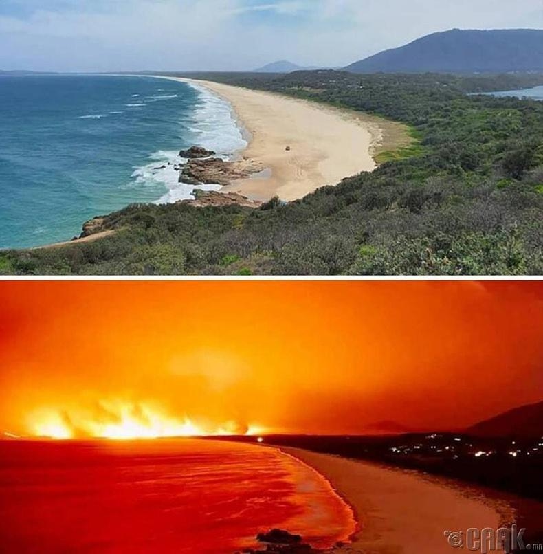 Австралийн түймэр 7 хоногт