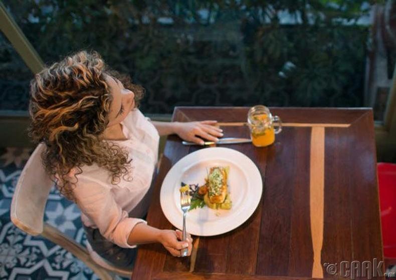 Дейфнофобия- Хоолны үеэр хүмүүстэй ярилцах айдас