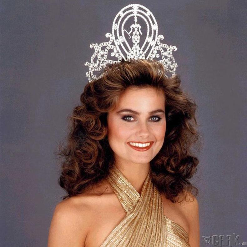 """Miss Universe-1978""-ын ялагч: Өмнөд Африкын гоо бүсгүй Маргарет Гардинер, 18 настай, 178 см өндөр."