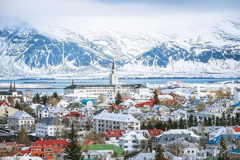 Исландад амьдрахынсөрөг тал