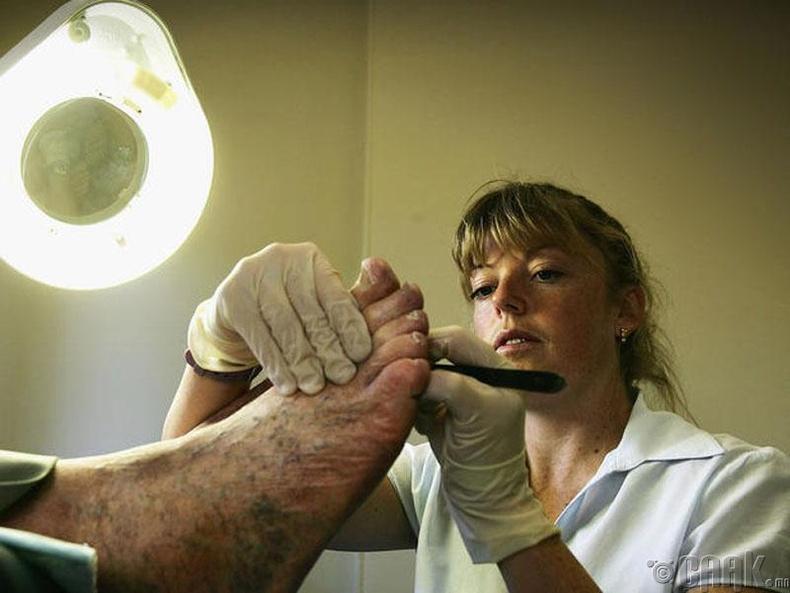 Хөлийн өвчний эмч