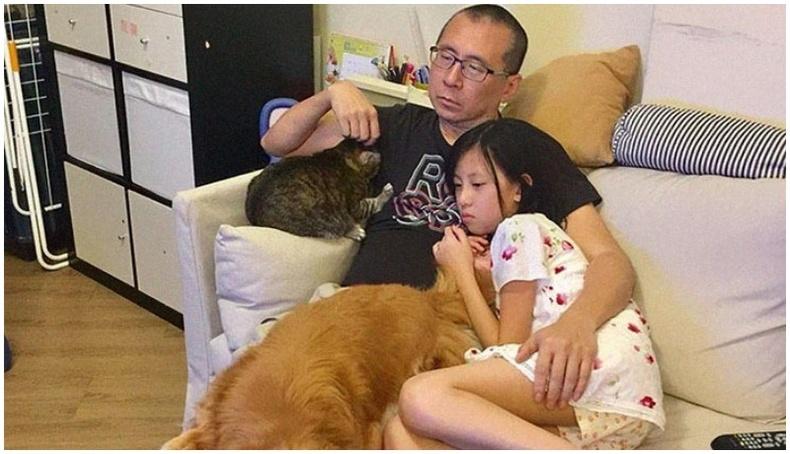 Цахим ертөнцөд трэнд болж буй аав охин хоёрын зураг