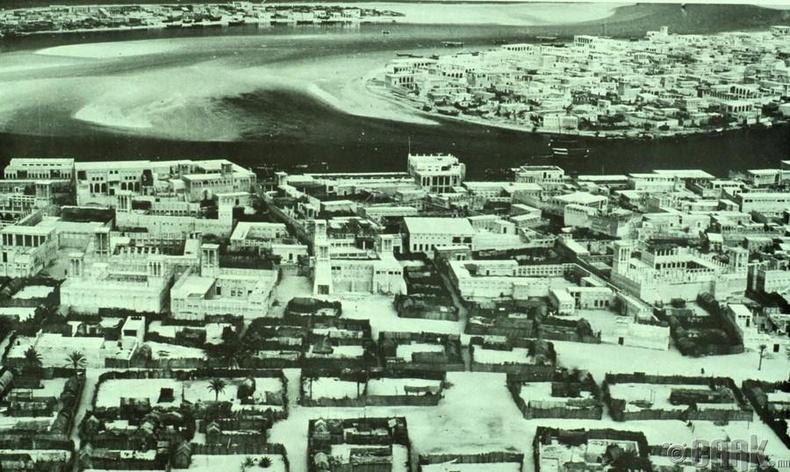 Хотын дээрээс авсан зураг, 1950